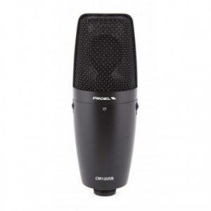 Microfone Proel CM12 USB